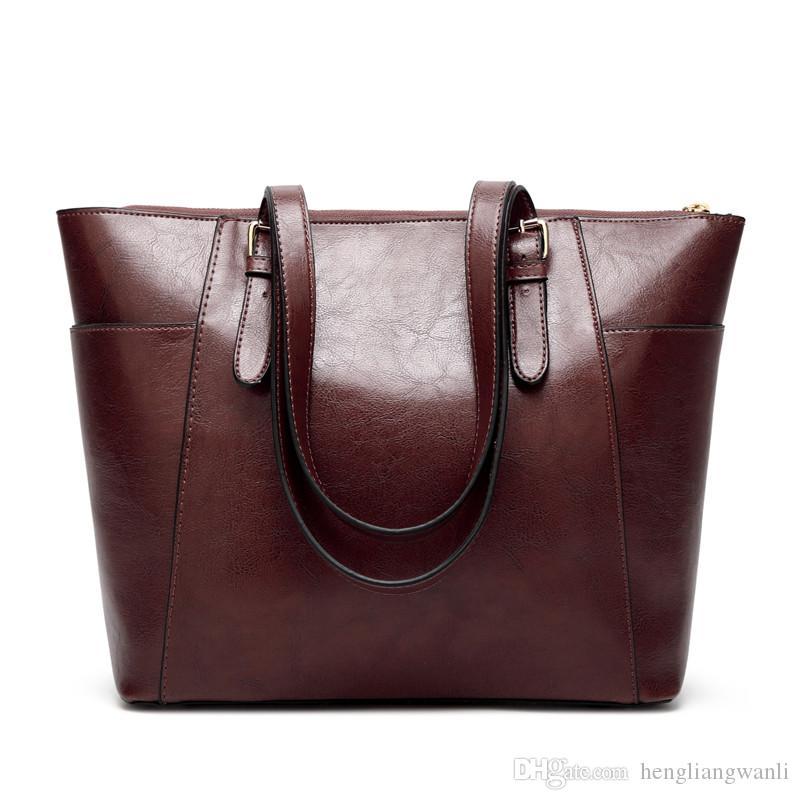 Nouveau dames de mode créateur de mode sac à bandoulière en cuir PU cuir sac à main simple, le sac Messenger femmes occasionnels