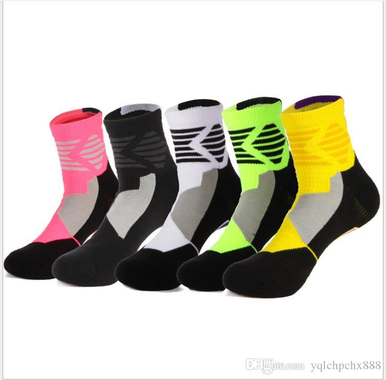 Outdoor professional elite sports socks Outdoor riding socks with thicker bottom of hose towel