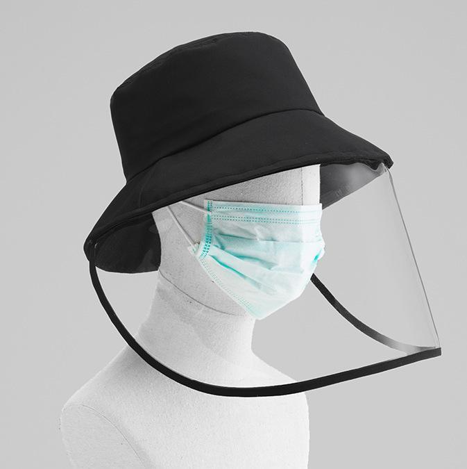 Fisherman Hat Protective Cap Anti-bacteriana Isolamento Aeolian areia poeira Protecção dos olhos Hat Epidemia Máscara Prevenção de protecção