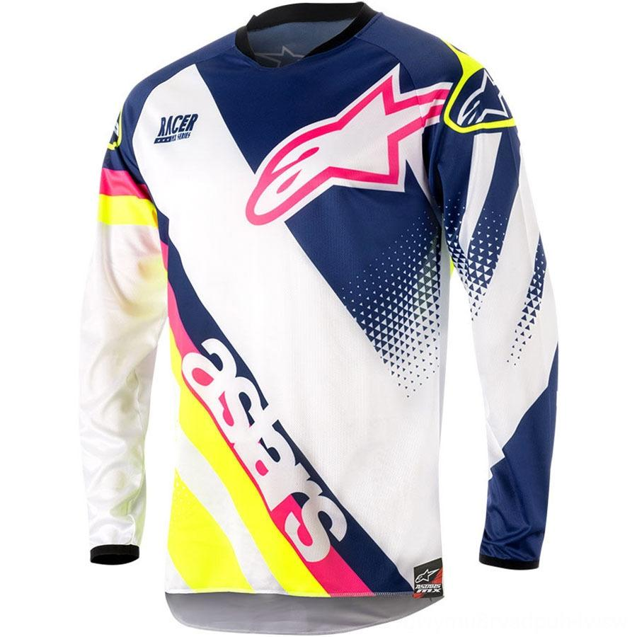 T-shirt Star Velocide T-shirt Mountain Bike Abbigliamento da equitazione Bicycle Riding Cross-Country Motorcycle Suit Suit Racing Quick-Dry Suit