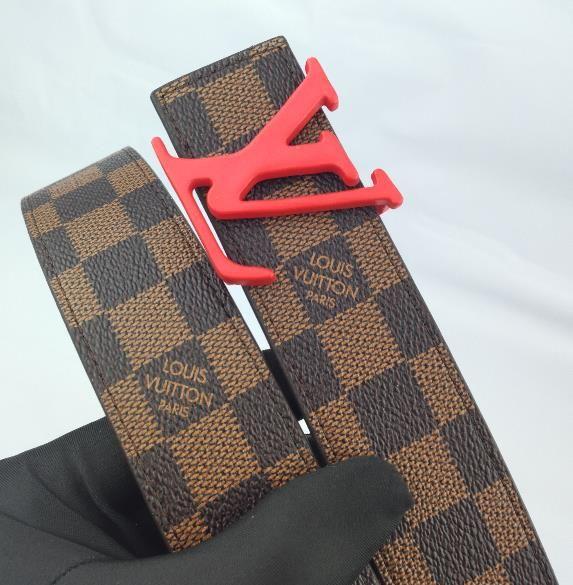 Crime Gürtel lässig Modedesigner Frauen Männer glatt Schnalle mit Markenlogo Farbe optional hohen Qualität