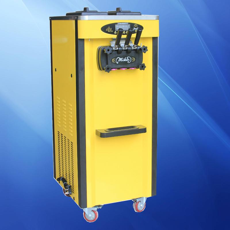 Máquina de sorvete macia comercial totalmente automática 220V / 110V, usando tecnologia de fixação solda, linda e bonita