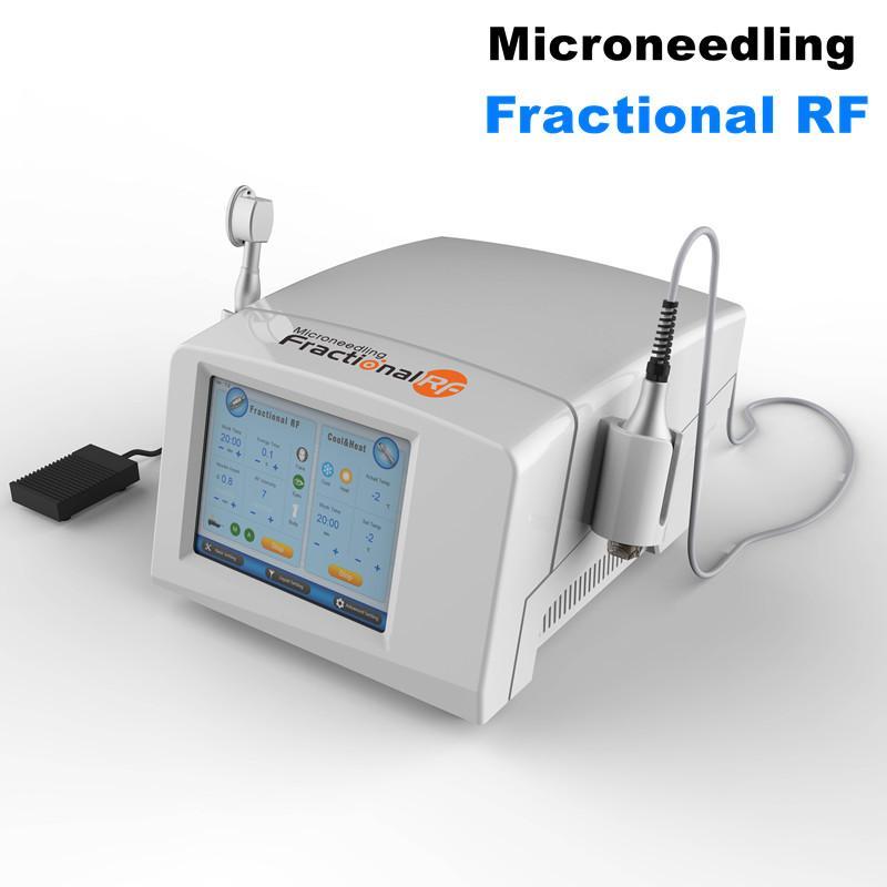 Microagulhas fracionário RF Ouro Microneedle máquina para pele aperto Face Lift Scar removedor e colágenos remodelação