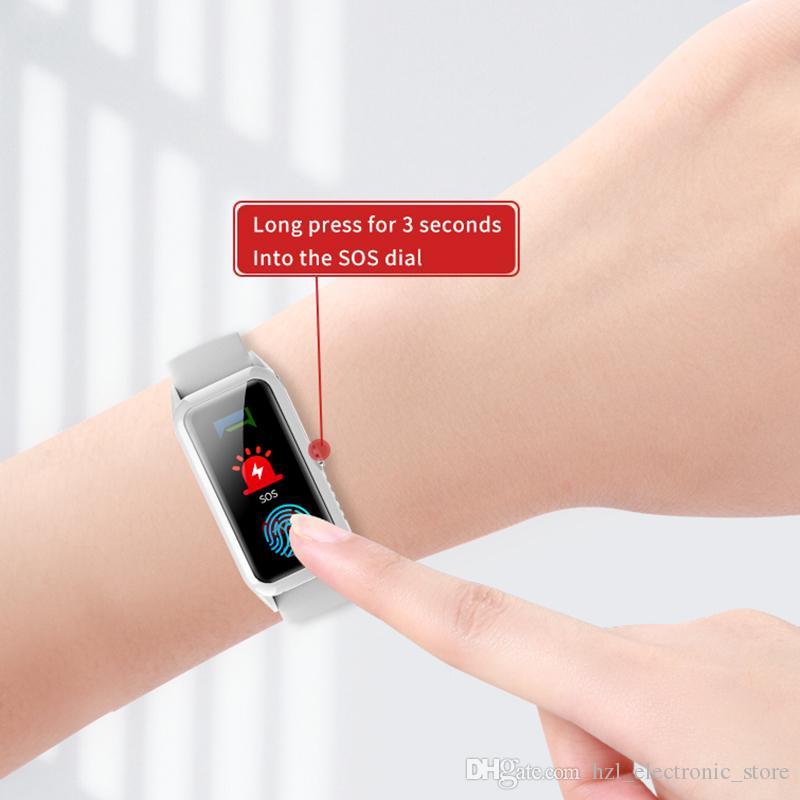 معدل ضربات القلب للأطفال GPS ووتش الذكية الطفل ووتش لمراقبة الأطفال ساعة الطفل مع الموقع SOS نداء المقتفي جهاز PK Q528 Q100 q90
