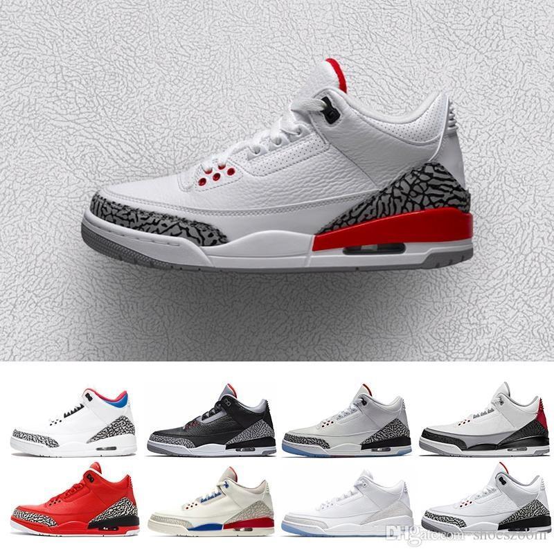 Free Shipping mens Retro Rose Gold 3 Se Q54 Quai 54 White 1 Black Pink Basketball Shoes Women Quai54 Sneaker 8-13