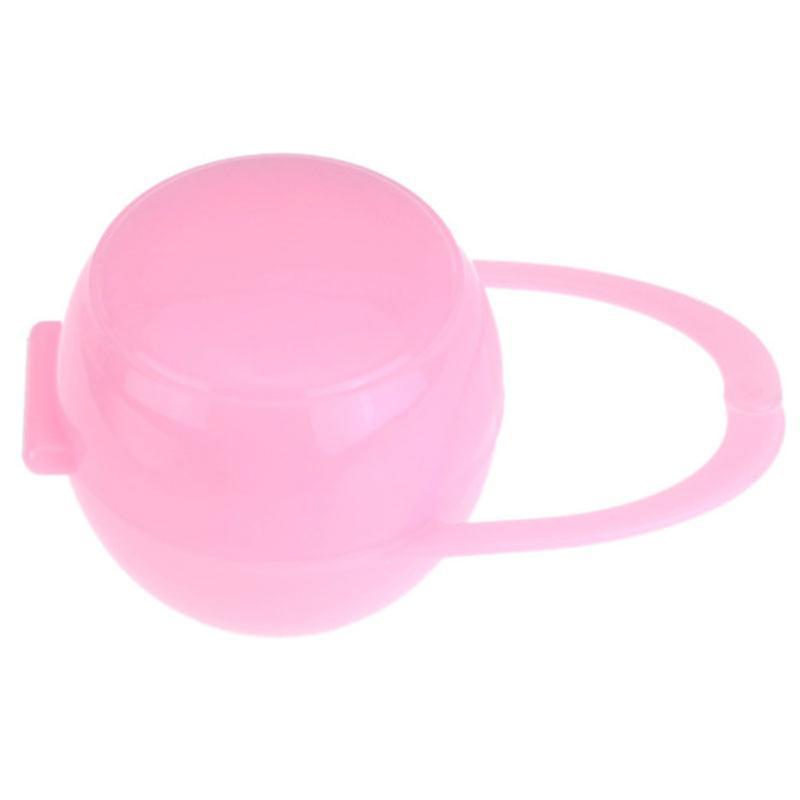 Almacenamiento conveniente chupete portátil maniquí regalo Durable plástico casa viaje bebé chupete caja