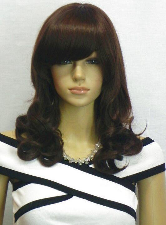 Perruque perruque fashion Nouveau short sexy pour femme Perruques marron foncé jf065