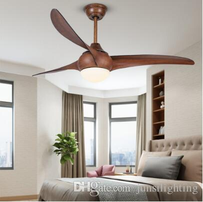 Потолочные вентиляторы постоянного тока вентиляторы постоянного тока освежите простую моду 52-дюймовый ресторан гостиной пульт дистанционного управления