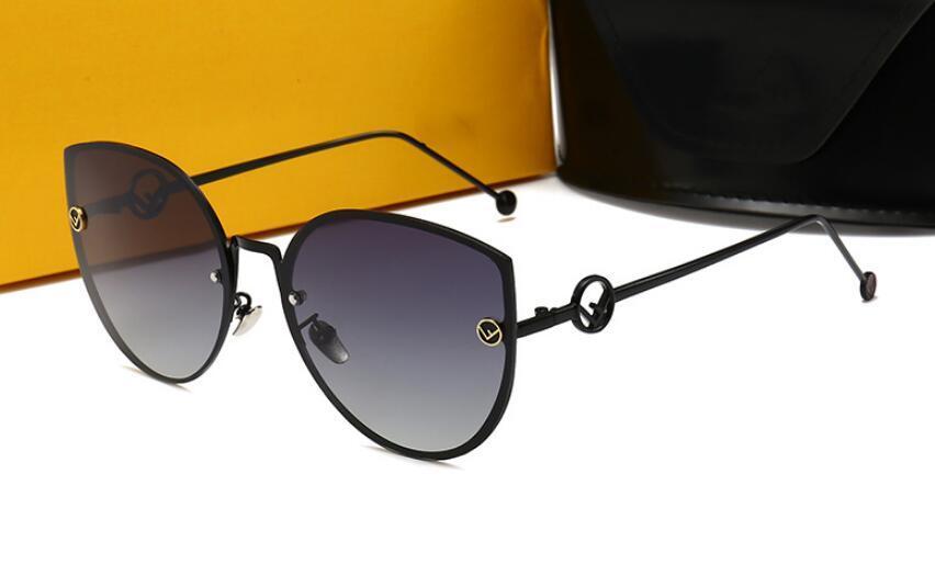 Lüks-Yüksek kalite new kadın polarize güneş gözlüğü kadın moda çerçevesiz UV koruma güneş gözlüğü Trendy sokak atış gözlük 0292