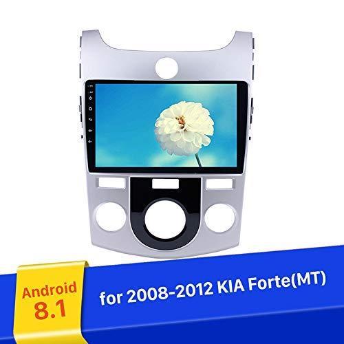 9 بوصة الروبوت 9.0 راديو السيارة لكيا فورتي MT 2008-2012 مع الموسيقى GPS USB راديو بلوتوث واي فاي