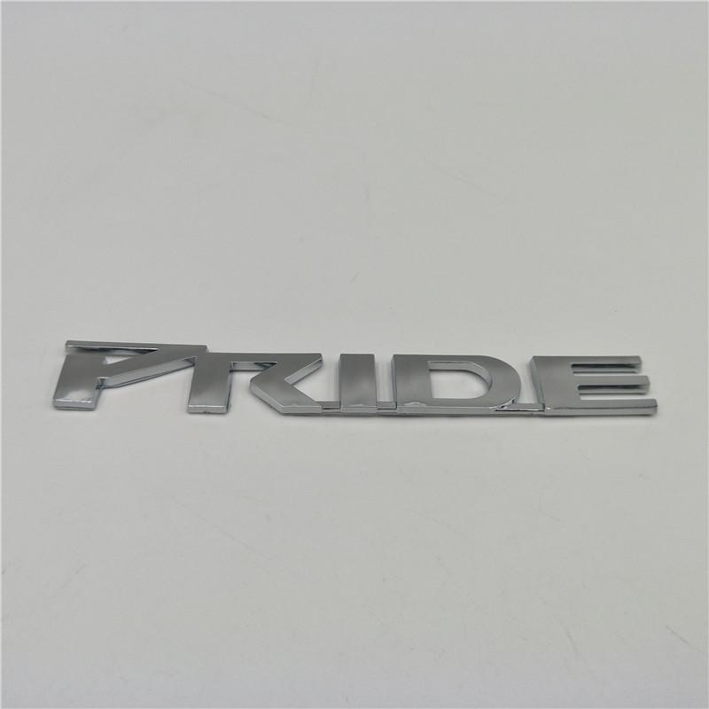 For Kia Rio Hatchback 2006 - 2016 Pride Logo Rear Trunk Emblem Badge Nameplate