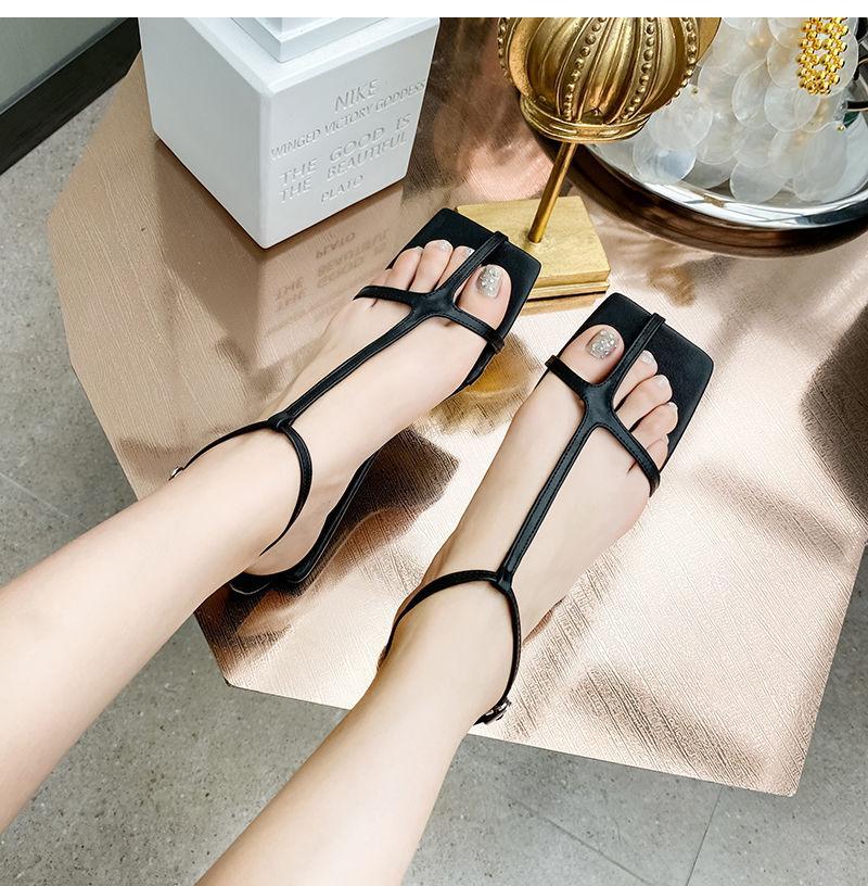 2020 Новая мода лето Женщины Сандал обувь Плоский Гладиатор Назад ремень Пляж Сандал Повседневный отпуск Sandalias Mujer