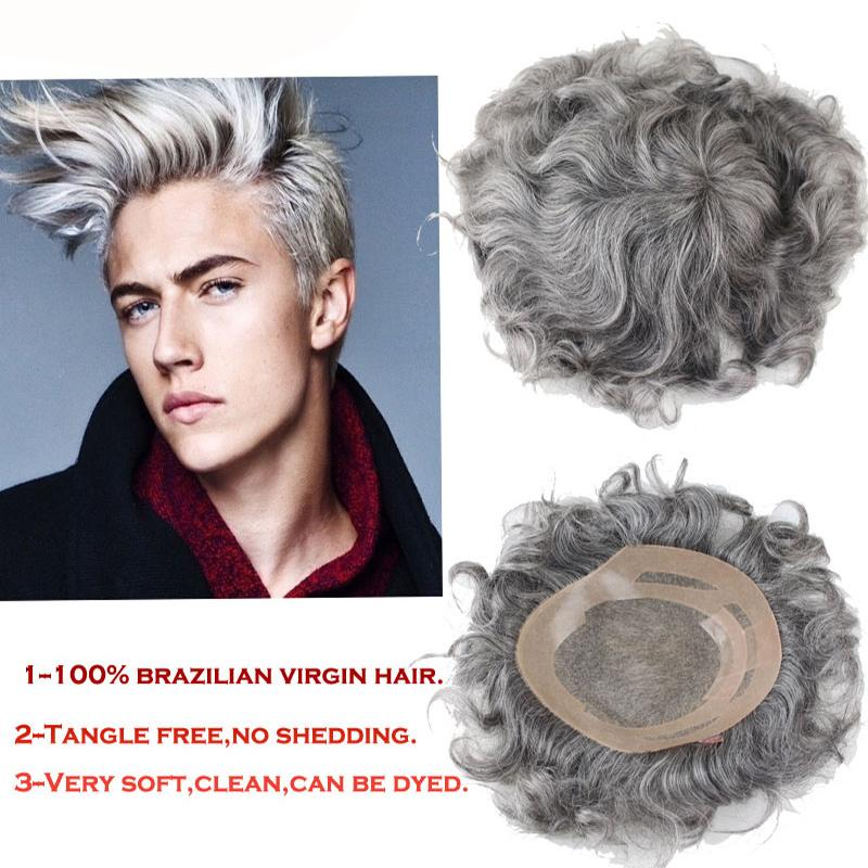 TKWIG Company with men's toupee full lace toupee men's wigs natural hairline hair system wholesale price