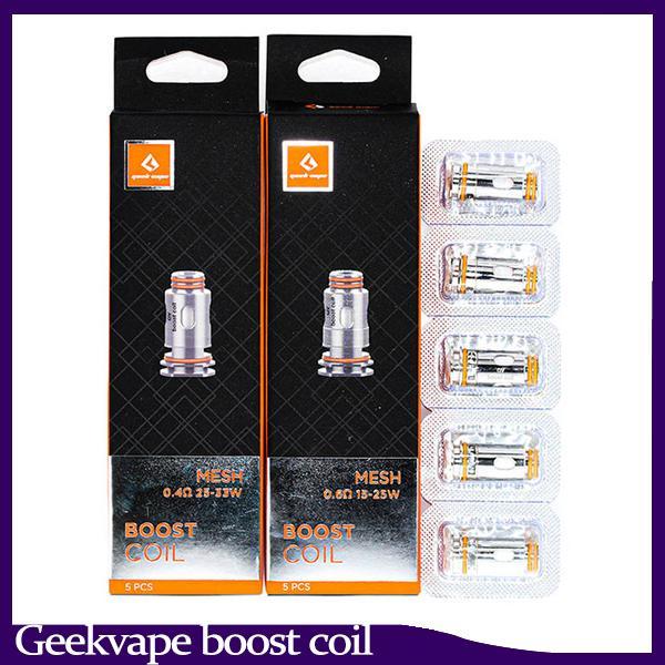 Geekvape Aegis Boost Coil 0.4ohm 0.6ohm Bobine di mesh sostituzione per Kit cartuccia Aegis Boost
