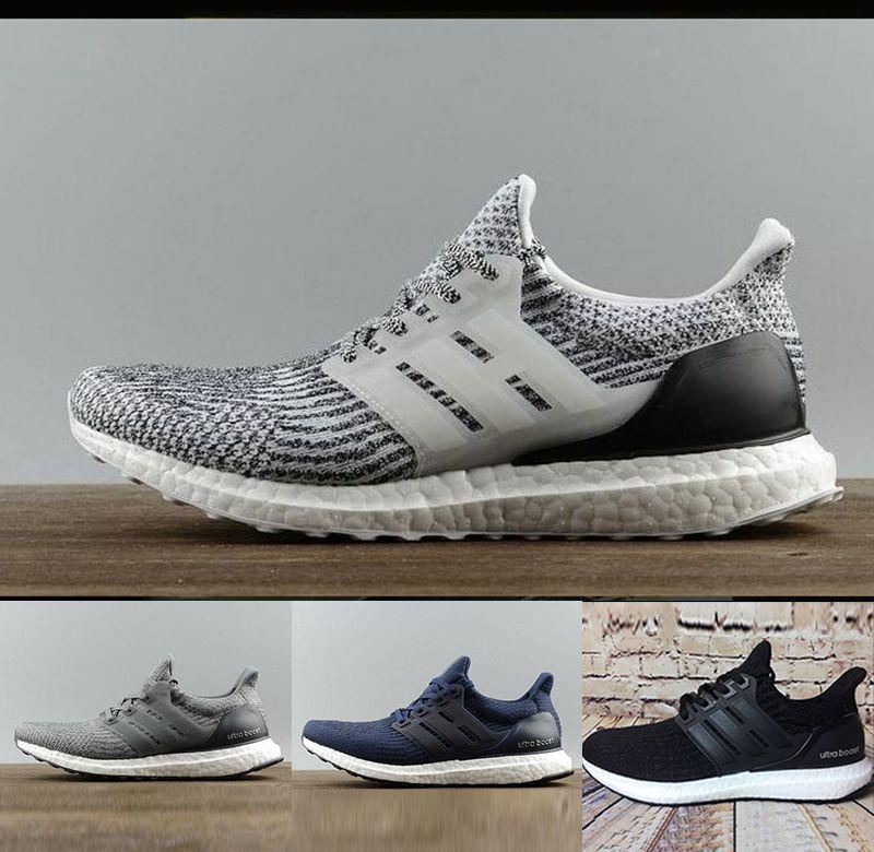 2020 High Quality Ultraboost 19 3.0 4.0 Running Shoes Men Women Ultra Boost 5.0 Runs White Black Athletic Designer Shoes