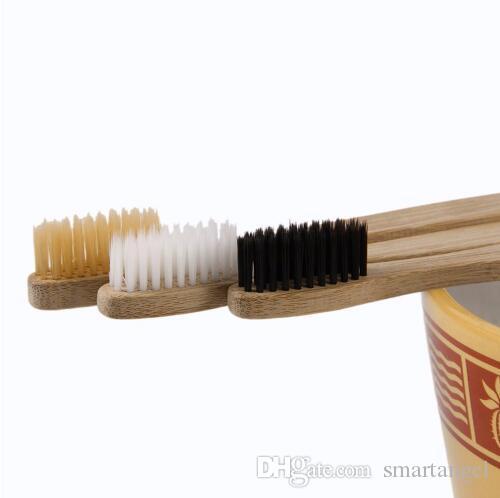 بيئة ودية الخشب فرشاة الأسنان الخيزران فرشاة الأسنان الناعمة ألياف الخيزران مقبض خشبي منخفض الكربون صديقة للبيئة