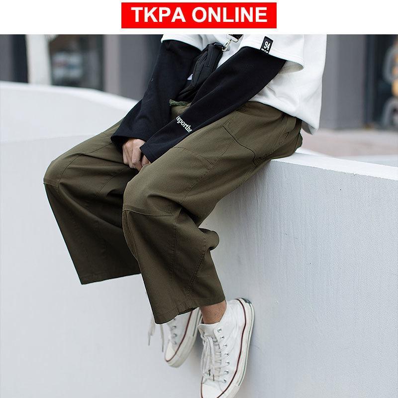 Los hombres Hip Hop Harem 2020 del verano del Mens Streetwear Joggers Pantalones Hombre Casual Sweat Fashions coreanos Pantalones