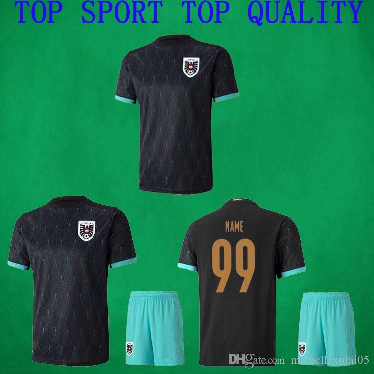 2020 Autriche Soccer Jersey 20 21 Alaba Arnautovic Sabitzer Grillitsch Maillot de football Uniformes National Football équipe Hommes + enfants de camisetas