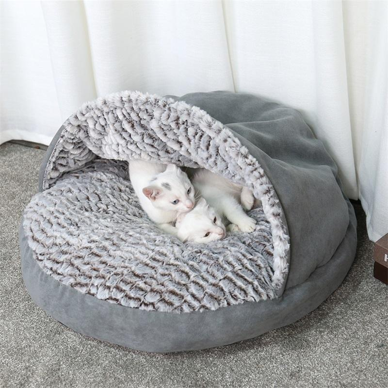 High Quality Winter Warm Slippers Style Dog Bed Pet Dog House Lovely Soft House Bed For Cat Dog Soft Kennel Free shipping D19011506