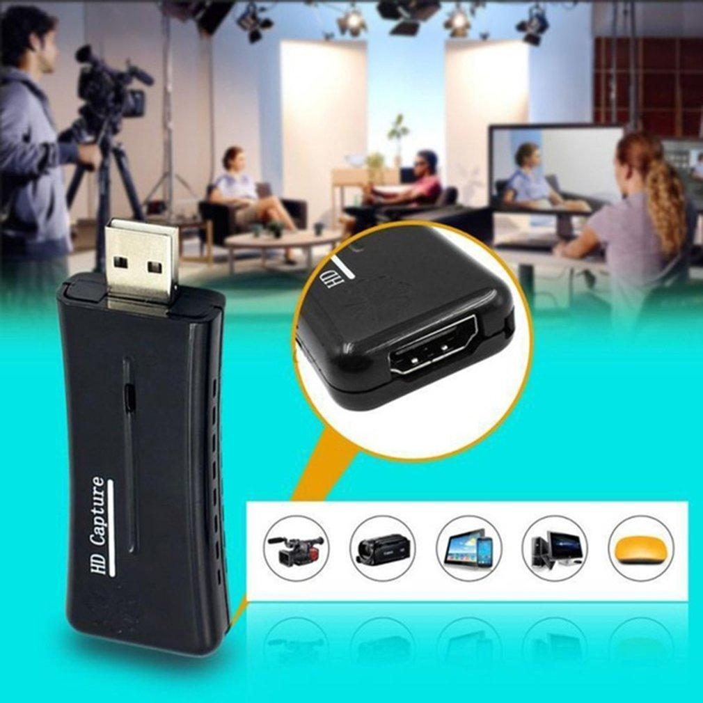 USB2.0 HDMI video capture Adapter For Mobile Phones Tablets HDTV high-definition video Capturer HD video Acquisition Card