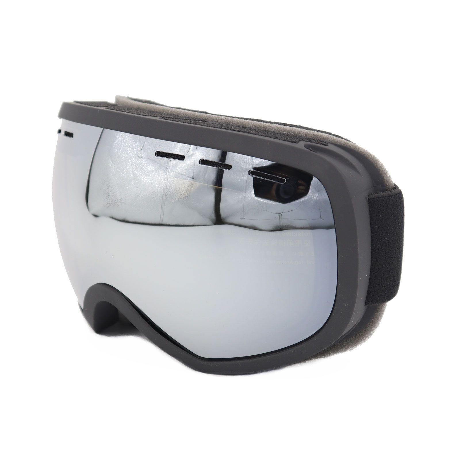 Profesyonel Erkekler Kadınlar Kayak Gözlük Gözlük Çift Katmanlar UV400 Anti-sis Büyük Kayak dava ile Kayak Gözlük Kar Snowboard Goggles Maske