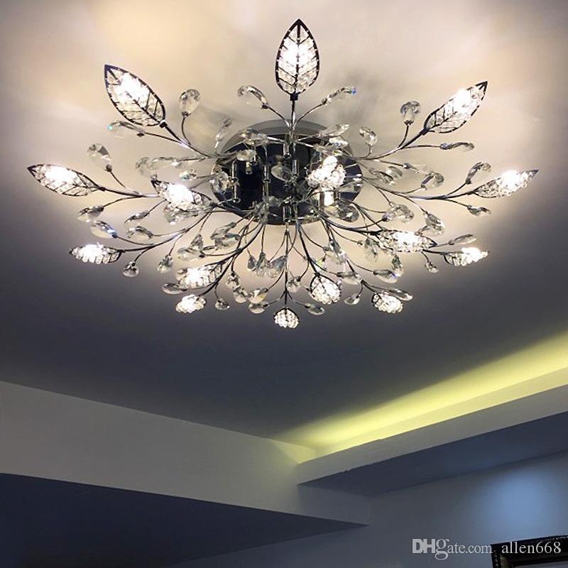 Soffitto moderna Lucine condotto la lampada per Soggiorno Camera da letto Camera Studio superficie Avize montata plafonnier Lampadari