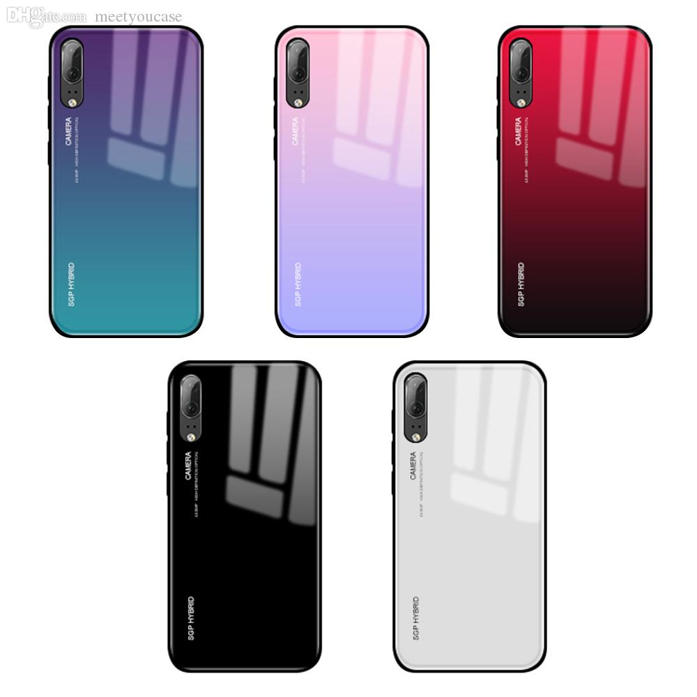 nuovo prodotto 629af 970e8 Gradient Tempered Glass Phone Case For Xiaomi Mi A1 A2 Mix 2 S 6 8 Se Mi6  Mia1 Mia2 Lite Cover Shell Pocophone F1 F 1 Coque Capa Cell Phone Cases ...