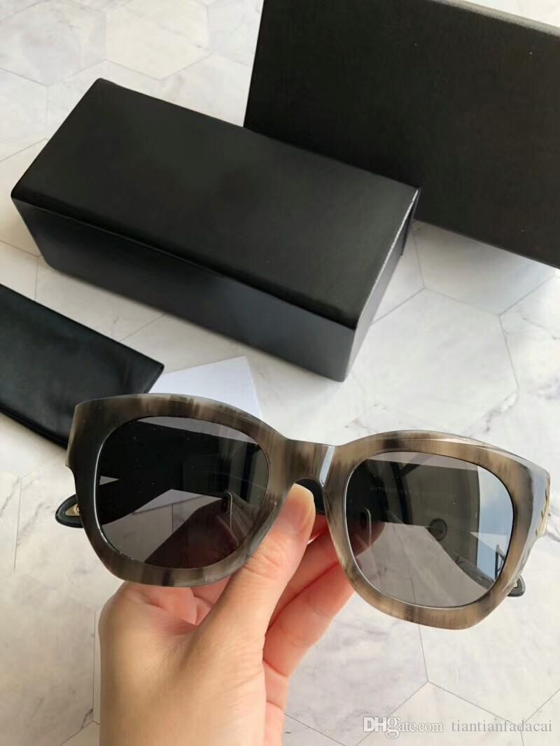 새로운 패션 여성 선글라스 7061 남성 선글라스 간단하고 관대 한 사람 태양의 경우 야외 UV400 보호 안경 안경