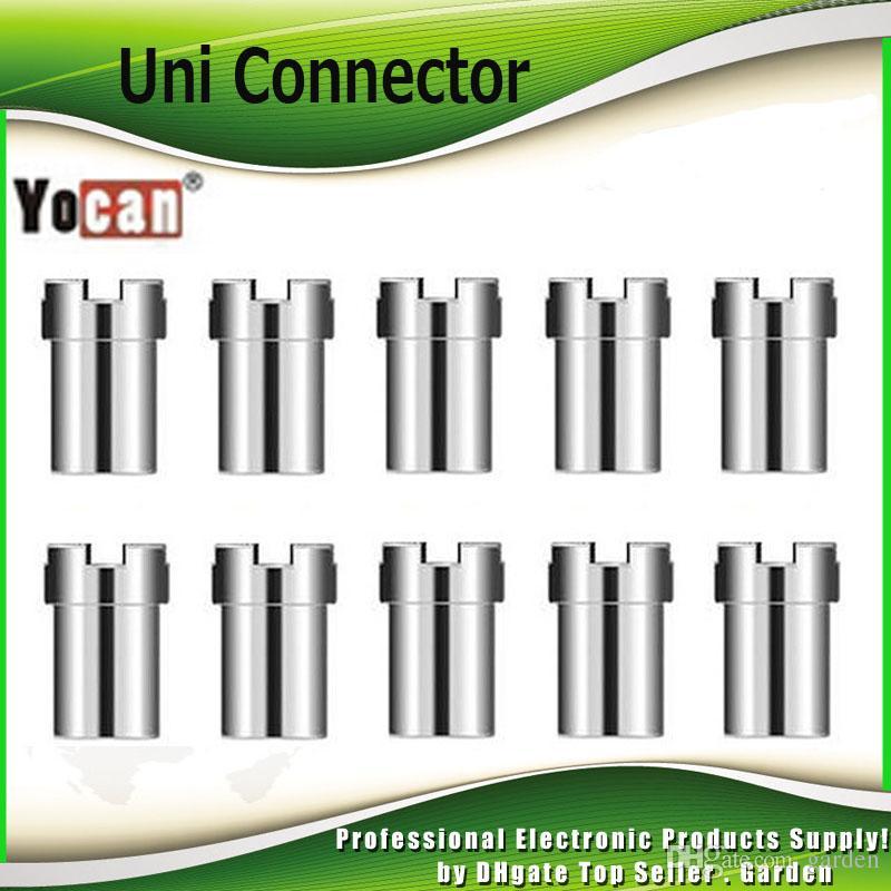 원래 Yocan Uni 자기 커넥터 어댑터 UNI Vape Box Mod 배터리 용 마그네트 링 510 분무기 카트리지 100 % 정통