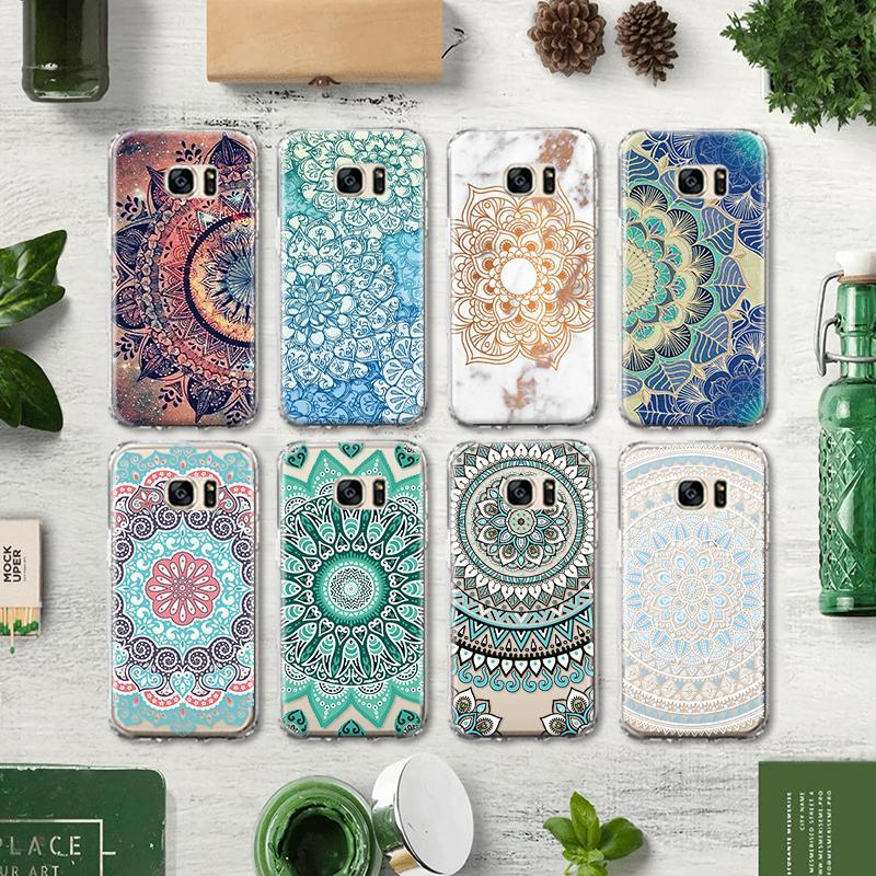 Couverture Florale En TPU Mandala Pour Samsung Galaxy S4 S5 S6 S7 Edge S8 S9 S10 Plus Note 4 5 8 9 Coque En Silicone Proposé Par Jerry01, 0,18 € | ...