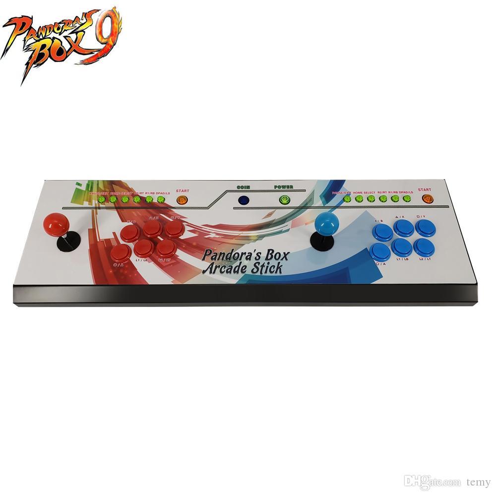 New arrival Jamma multi games Household arcade video game machine console,multi game 1500 in 1 Pandora's Box 9 game machine