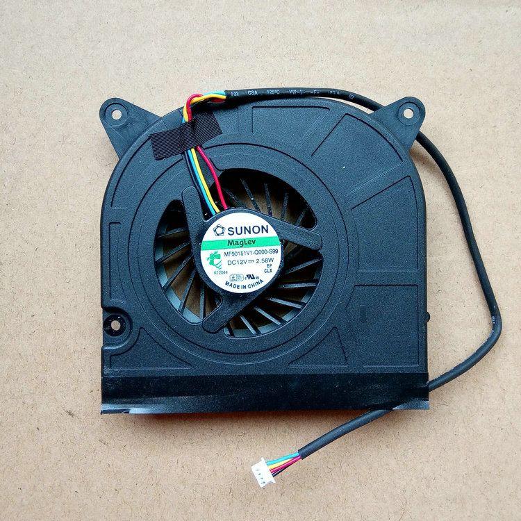 جديد الأصلي MF90151V1-Q000-S99 1323-009X000 dc12v 2.58 واط 4 خطوط محمول مروحة التبريد
