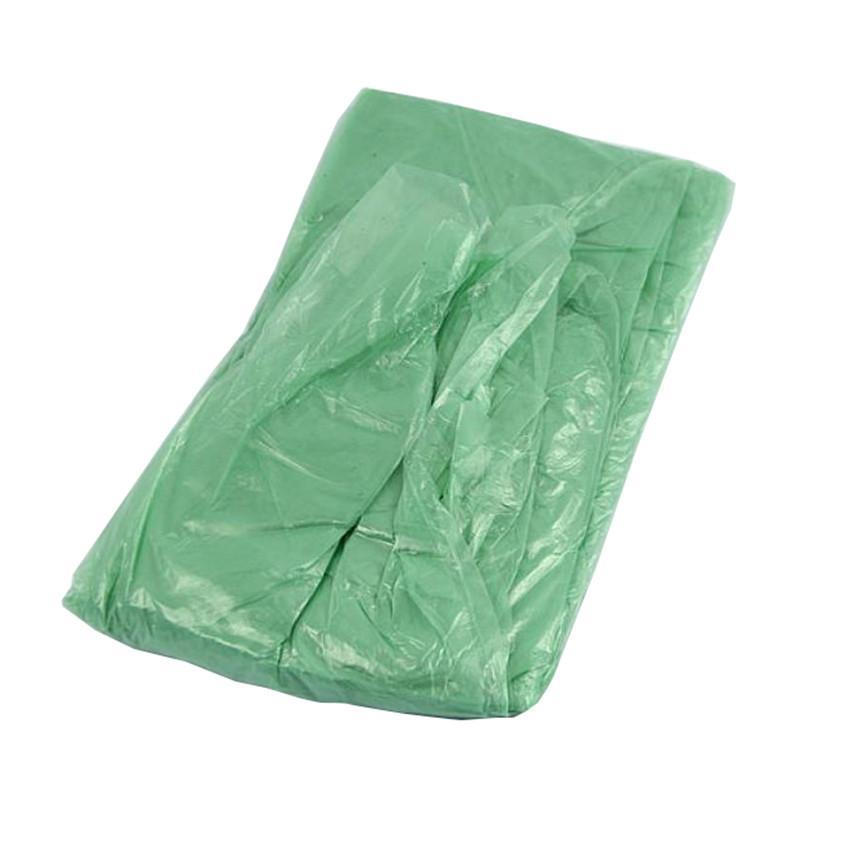 Art und Weise heiße Wegwerf-PET Regenmantel Poncho Regen Reise-Regen-Mantel Regen-Bekleidung Geschenke Mischfarben