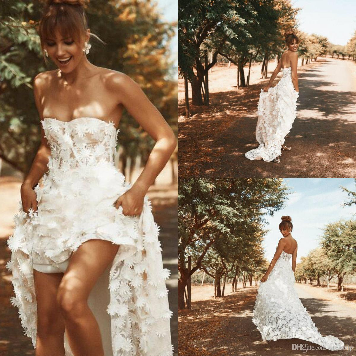 DiscountModest High Low Country Wedding Dresses 20 Sweetheart 20D ...