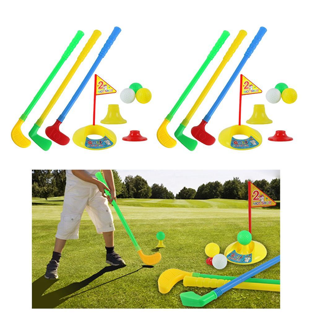 Kupa Delik Hedef Araç Oyunu koymak 2sets Komik Çocuk Golf Putter Kulübü Golf Oyuncak