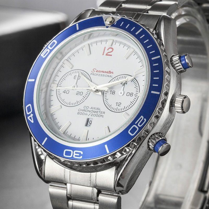 2019 venda quente mens relógio de quartzo moda dial homens relógio de aço inoxidável mens relógios dos homens relógios de pulso de negócios