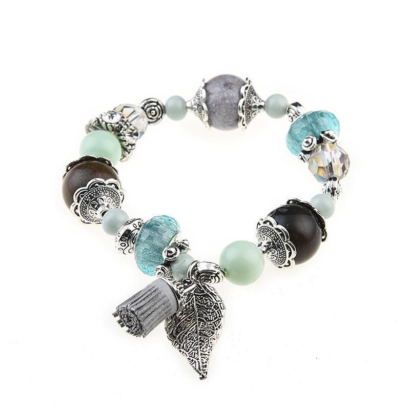 Оптово-люкс дизайнер ювелирных изделий женщин браслеты натурального камень бисер очарование море сериалы браслет замороженные из браслета NE1104