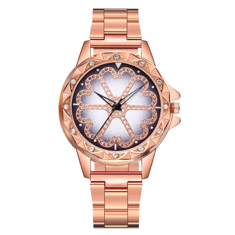 Популярные в внешней торговле женские Кварцевые наручные часы высокого класса роскошные алмазные легированные стальные браслеты наручные часы женщины