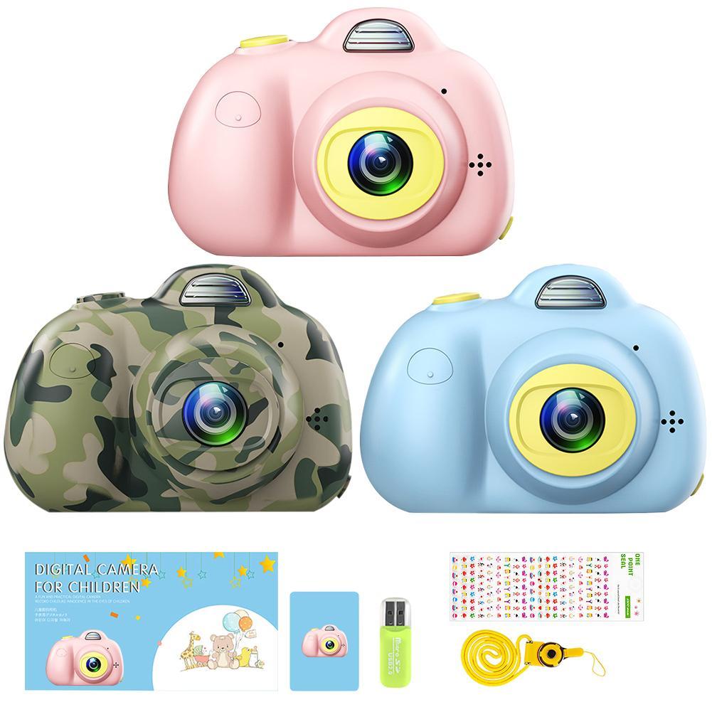 Crianças Mini Camera Toy Digital Photo Camera Crianças Brinquedos Educativos presentes fotografia da criança T200401 brinquedo 8MP câmera hd