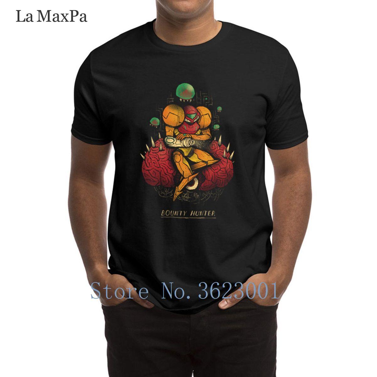 Настроить новинка футболка Охотник за головами мужская футболка странный унисекс мужчин футболка лучший большие размеры мужская футболка анти-морщинка рубашка