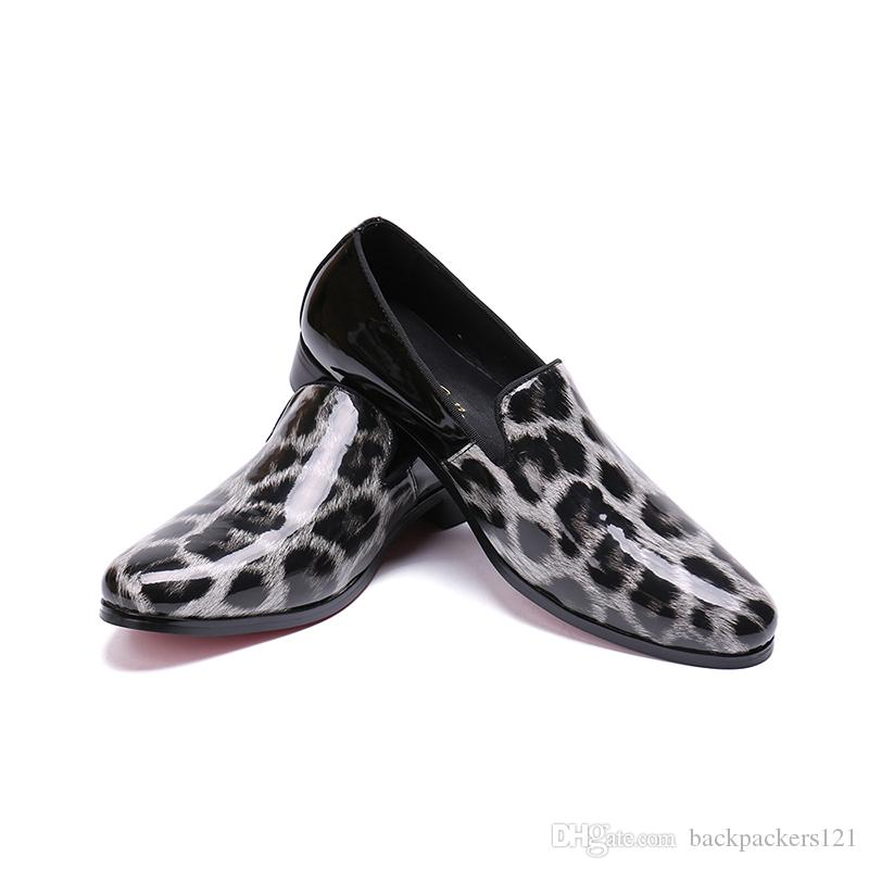 Man Fashion Leather Italian Derby Shoes Flats 2019 Autumn Casual Design Male Office High Quality Mules Flats Shoes