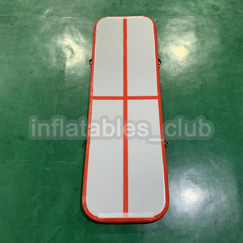 خصم كبير نفخ الهواء 3 متر الرئيسية استخدام الهواء ماتس المسار للبشرية أعلى جودة نفخ الهواء المسار الجمباز مع مضخة الهواء
