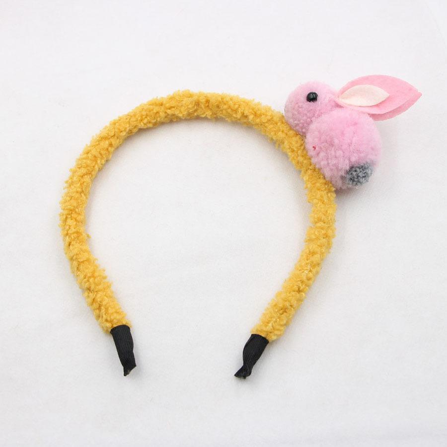 Bambini svegli ragazze sveglie multi-colori tridimensionale capelli peluche clip di coniglio Accessori per capelli fascia dei bambini per le ragazze