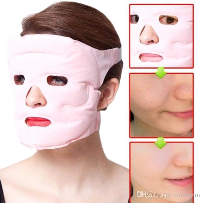 قناع الوجه الوجه العناية بالبشرة ماكياج أقنعة جل مغناطيس الصحة رقيقة الوجه أقنعة أقنعة المغناطيسي التخسيس شكل الوجه 50PCS