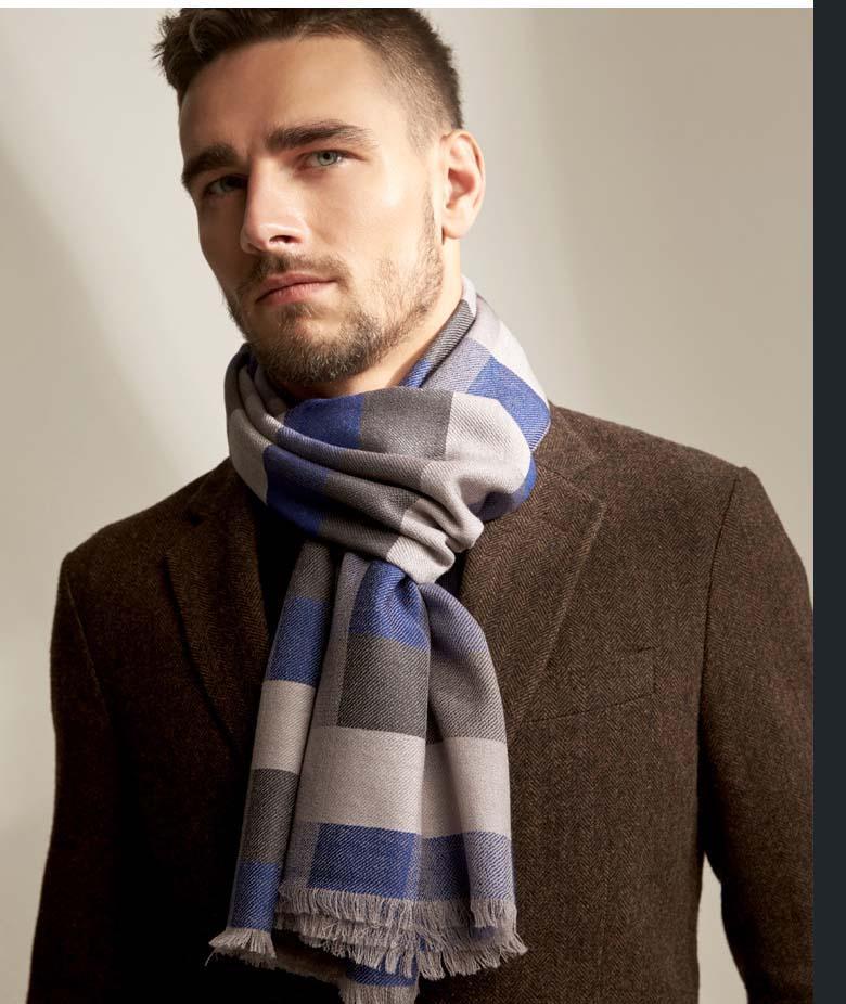 Оптовый новый классического шарф способ шотландки вышивки короны шаблон шарф бренд классического люкс мужские и женские платки