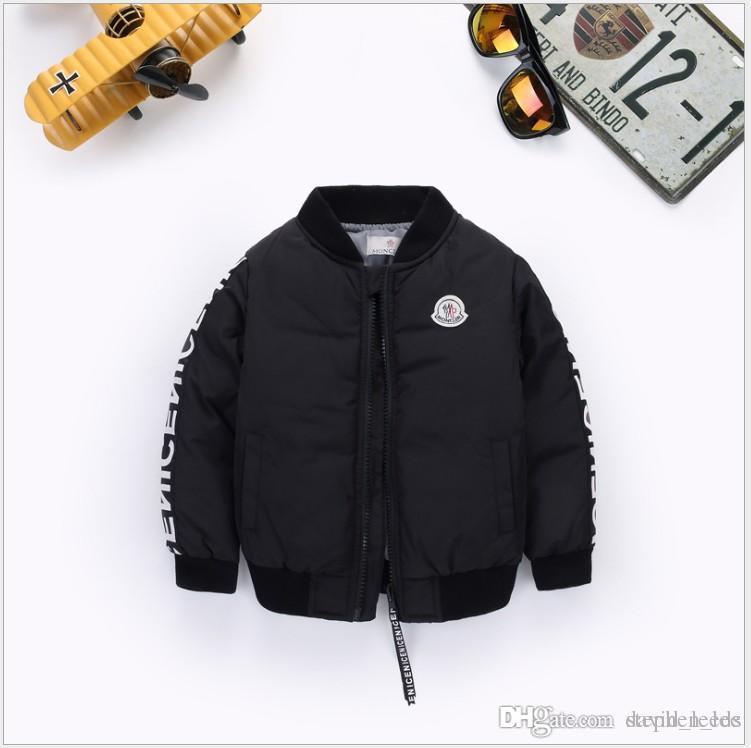 2019 뉴 보이즈 파커 스 재킷 겨울 자켓 보이 패션 아동 두꺼운 코트 아동용 재킷 자켓 Outwear 90-130cm Retail
