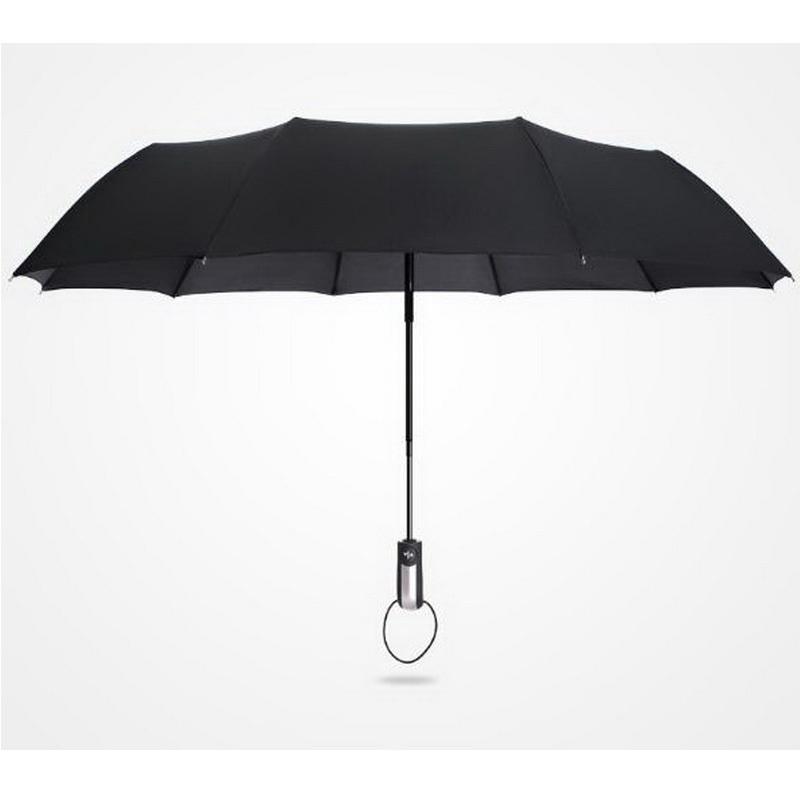 170365 / Ultra-light Kohlefaser dual umbrella / automatische Faltung regen Dach / Nano umbrella Tuch / Feine Verarbeitung