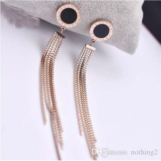 Luxus-Schmuck-Designer Ohrringe Kreis Quasten-Ohrringe für Frauen heiße neue Art und Weise des freien Großhandelsversand