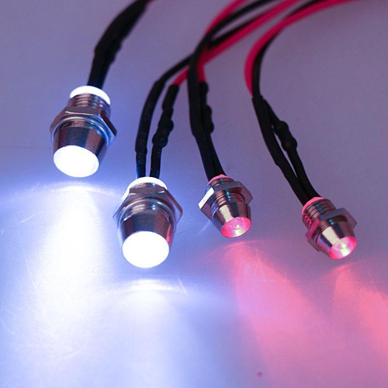 Pièces Accessoires RC sur route Modèle Drift voiture New LED nuit 5 mm 3 mm Phares Phares Lumière