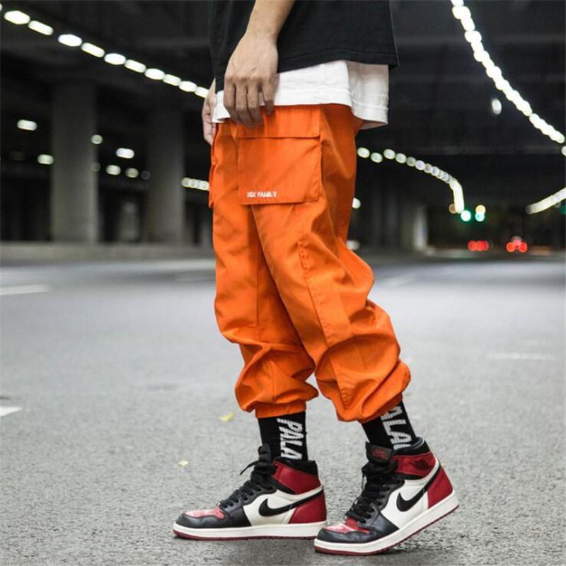 New Mens Black Loose Casual Long Pencil Pants Cool Harem Street Hip Hop Trousers